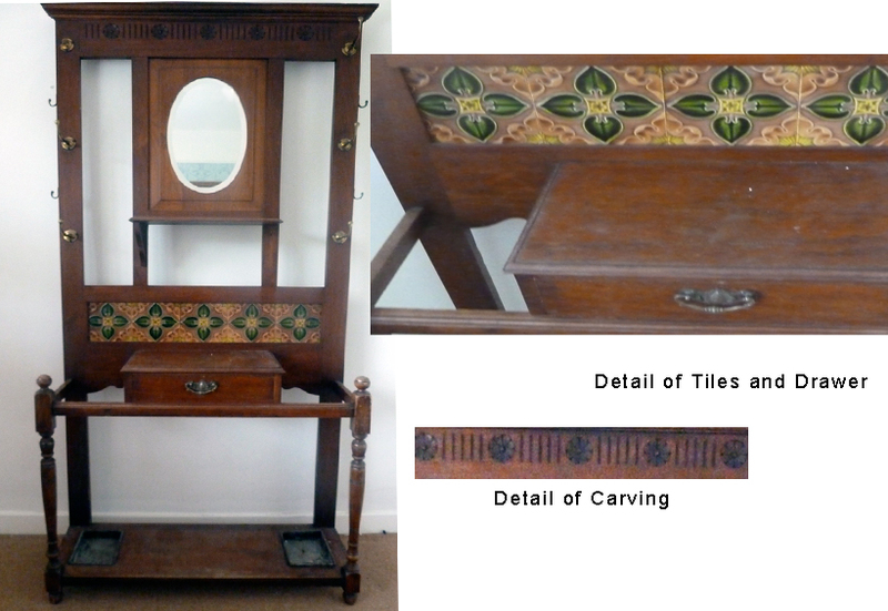 Antique hall stand wexford antiques for sale for Antiques and collectibles for sale