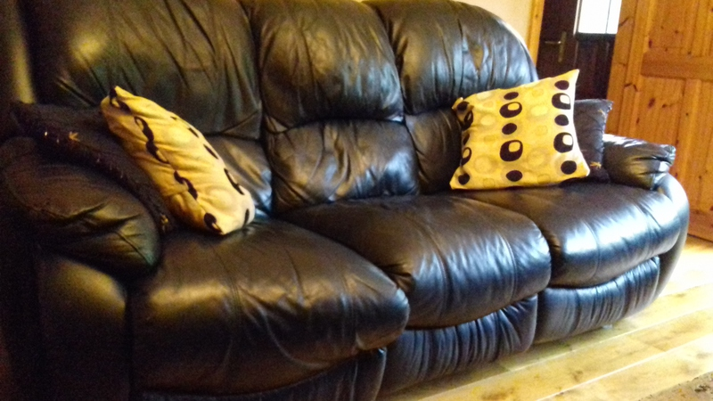 piece black leather suite wexford furniture for sale wexford